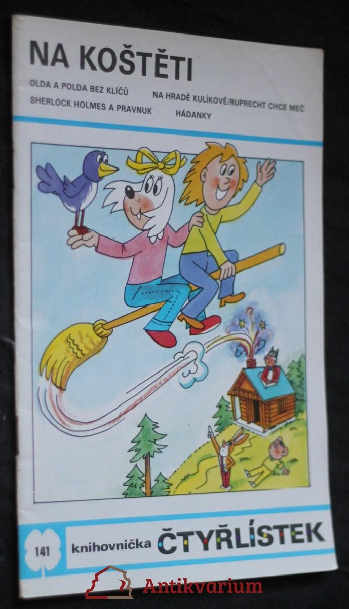 Na koštěti : [soubor obrázkových příběhů pro děti], č. 141