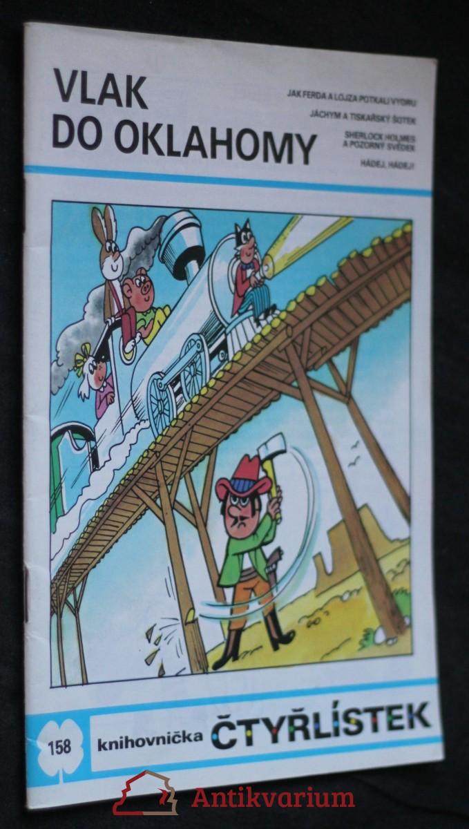 Vlak do Oklahomy : [Obrázkové příběhy pro děti], č. 158