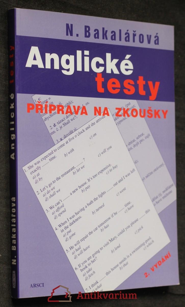 Anglické testy : příprava na zkoušky