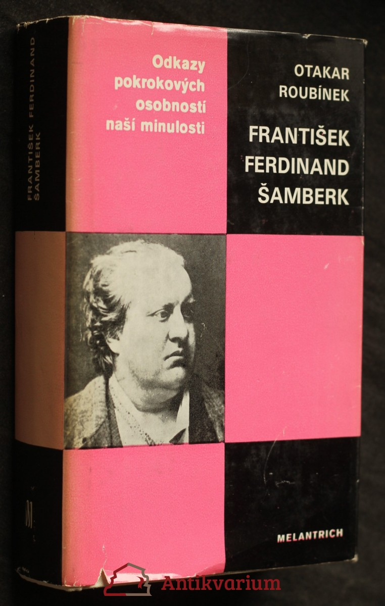 antikvární kniha František Ferdinand Šamberk, 1985