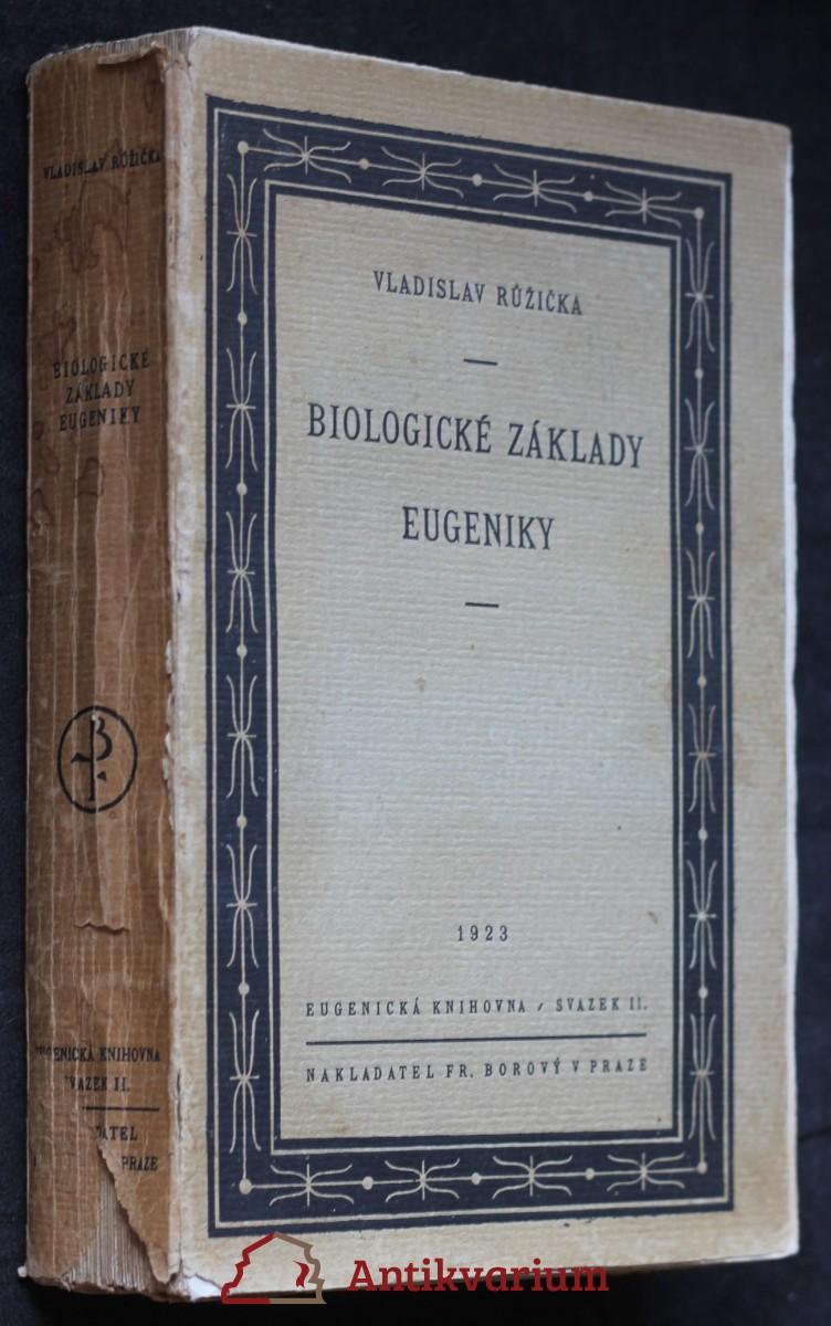 Biologické základy eugeniky