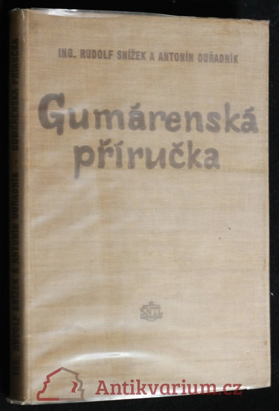 antikvární kniha Gumárenská příručka, 1956