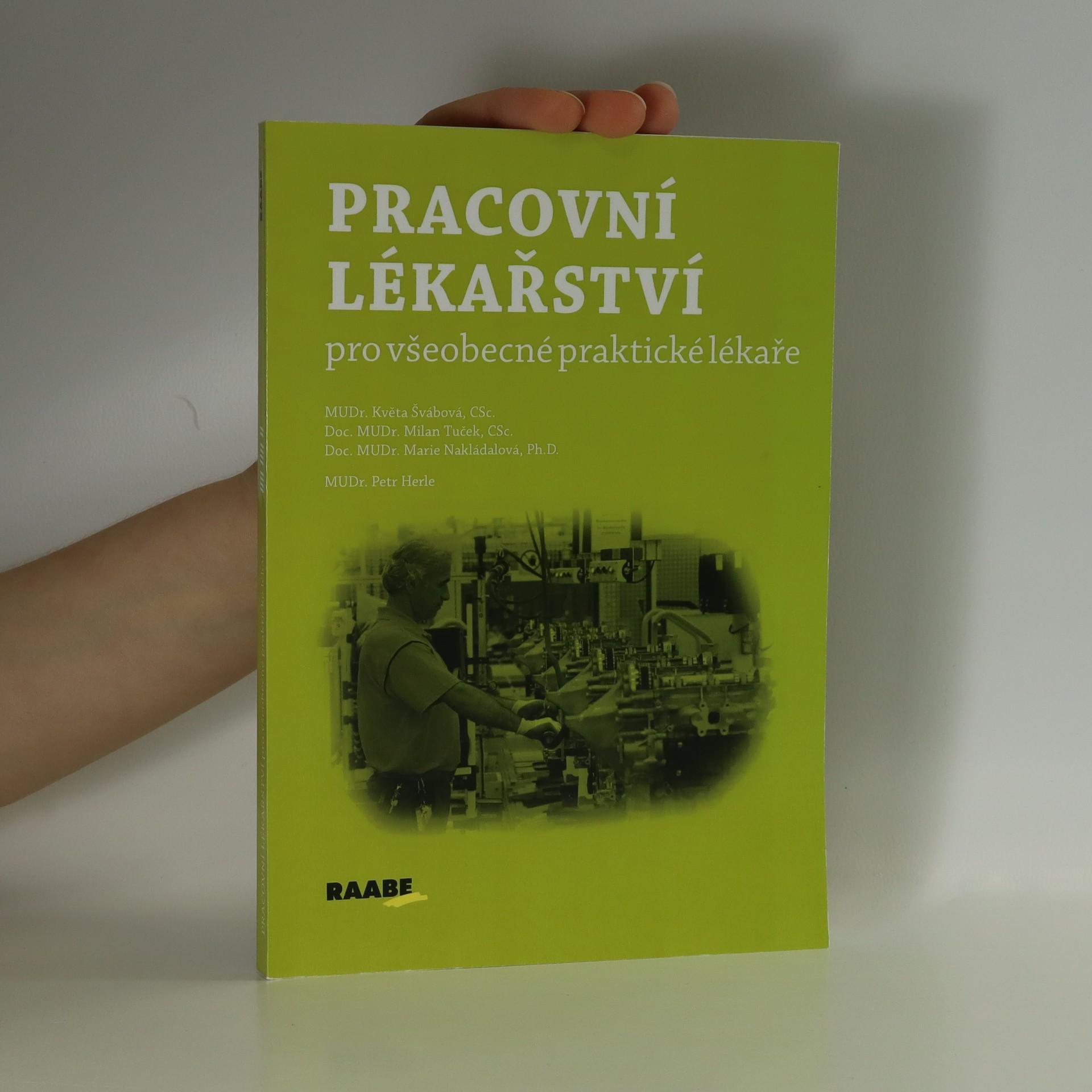 antikvární kniha Pracovní lékařství pro všeobecné praktické lékaře, neuveden