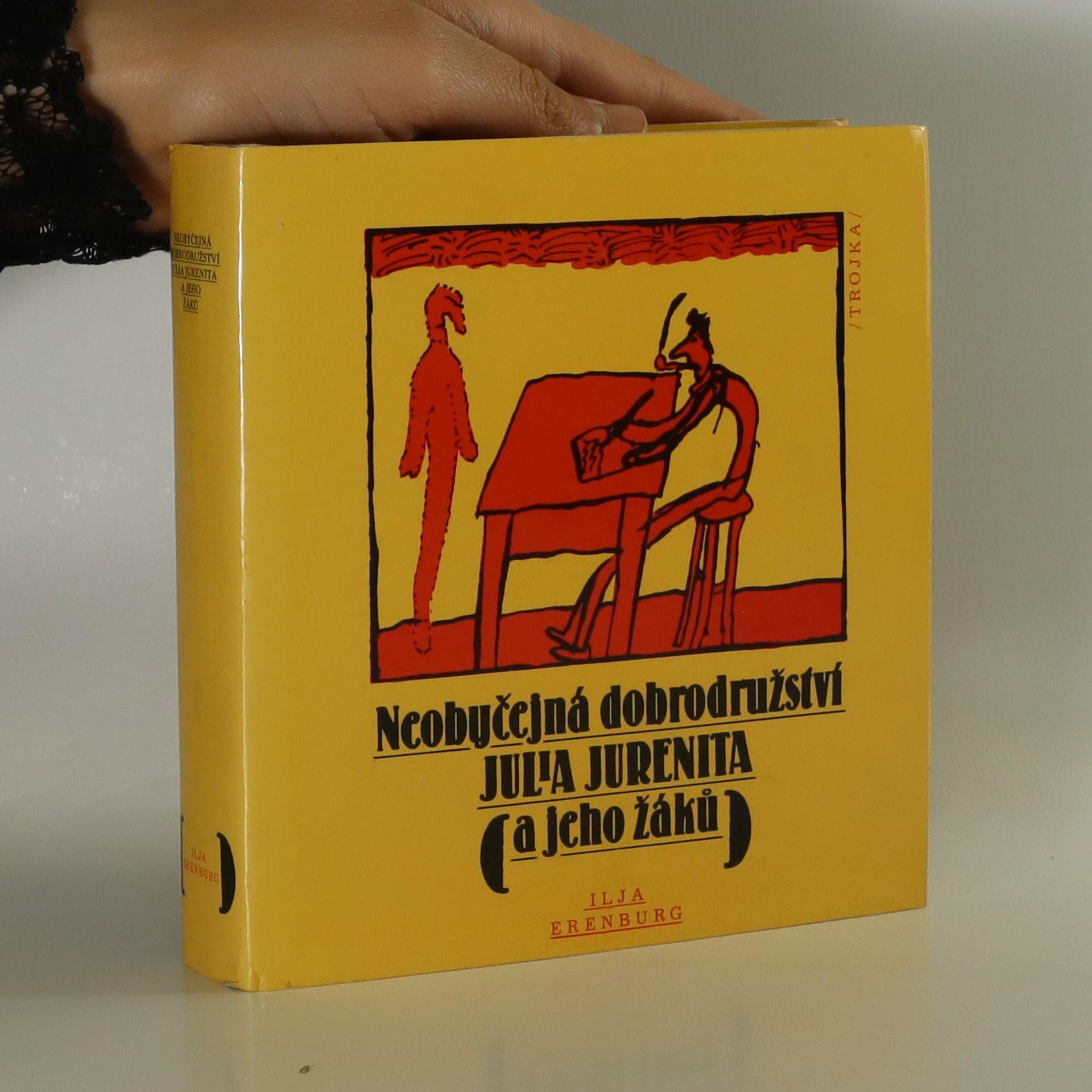 antikvární kniha Neobyčejná dobrodružství Julia Jurenita a jeho žáků, 1984