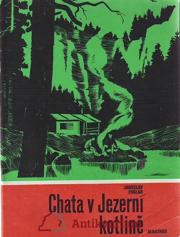 antikvární kniha Cesta v Jezerní kotlině, 1989