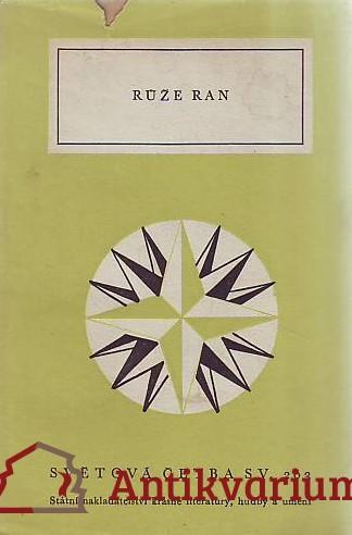antikvární kniha Růže ran, 1959