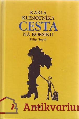 antikvární kniha Karla Klenotníka cesta na Korsiku, 1999