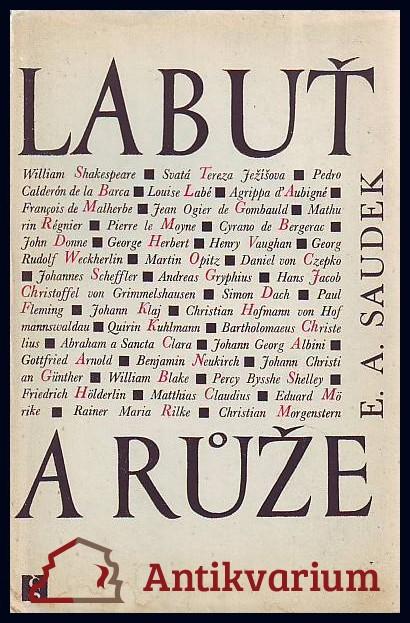 antikvární kniha Labuť a růže, 1966