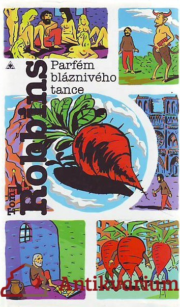 antikvární kniha Parfém bláznivého tance, 1996