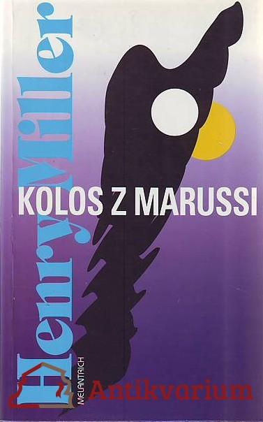 antikvární kniha Kolos z Marussi, 188