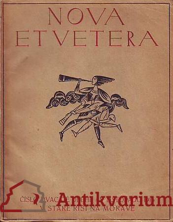 antikvární kniha Nova et Vetera. Číslo 22. Listopad 1916, 1916