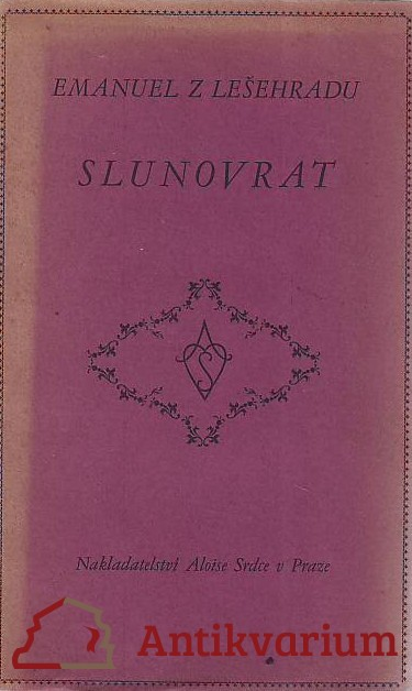 antikvární kniha Slunovrat, 1931