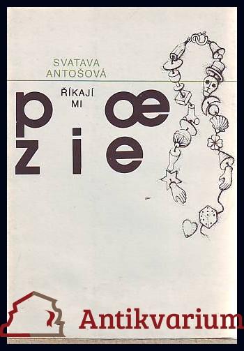 antikvární kniha Říkají mi poezie, 1989