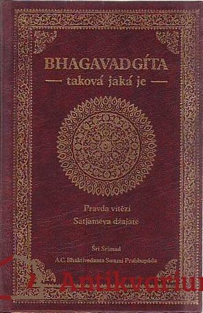 antikvární kniha Bhagavadgíta taková jaká je,