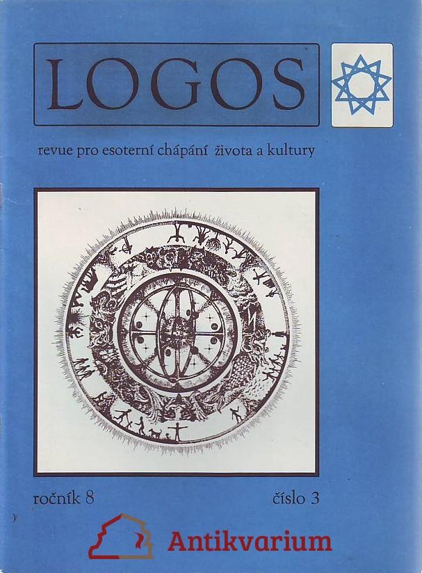 antikvární kniha Logos. Revue pro esoterní chápání života a kultury. Ročník 8 číslo 3, 1991