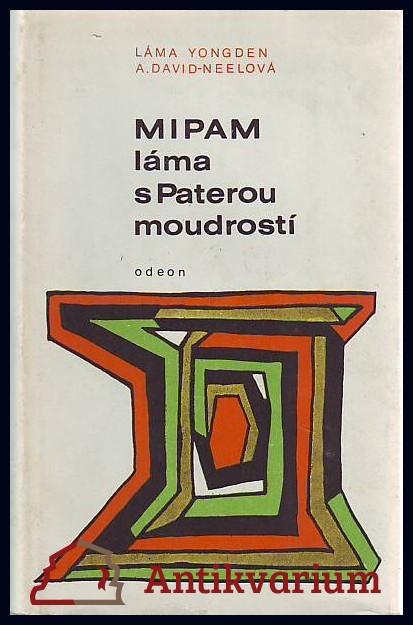 antikvární kniha Mipam láma s Paterou moudrostí, 1969