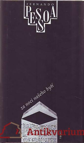 antikvární kniha Za noci našeho bytí, 1995