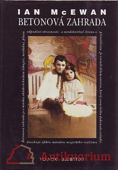 antikvární kniha Betonová zahrada, 1993
