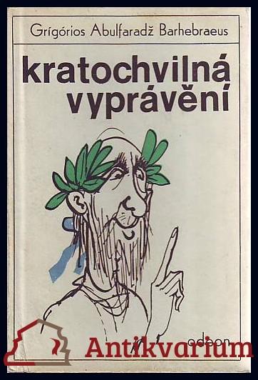 antikvární kniha Kratochvilná vyprávění, 1967