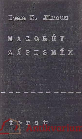 antikvární kniha Magorův zápisník, 1997