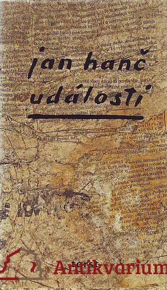 antikvární kniha Události, 1995