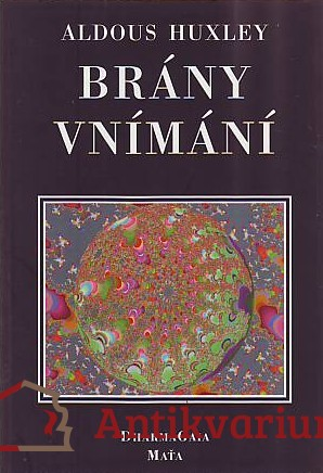 antikvární kniha Brány vnímání, 1996
