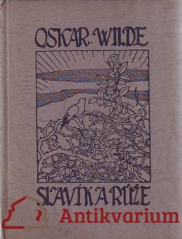 antikvární kniha Slavík a růže, 1919
