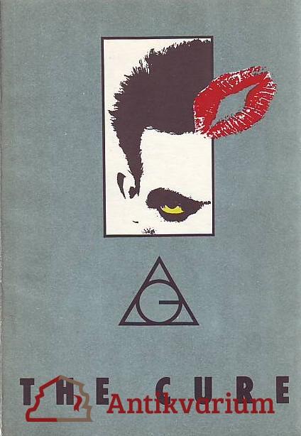 antikvární kniha The Cure, 1990