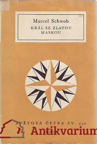 antikvární kniha Král se zlatou maskou, 1974