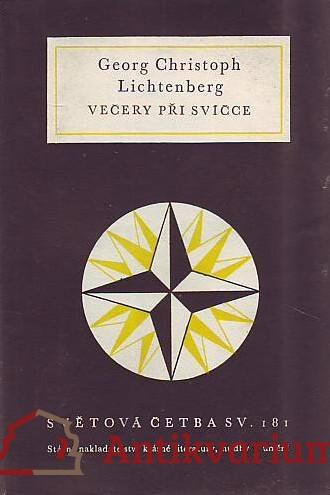 antikvární kniha Večery při svíčce, 1958