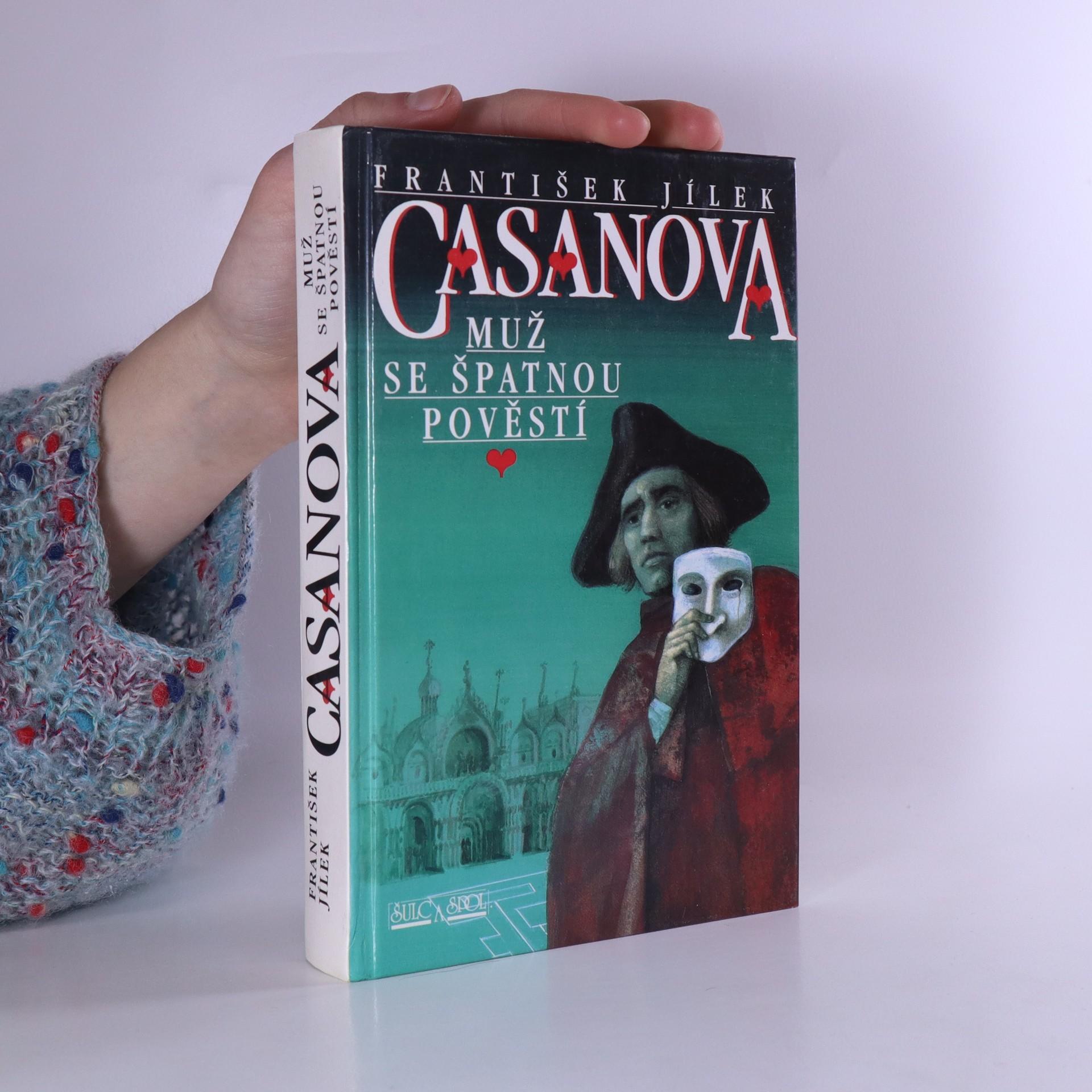 antikvární kniha Casanova : muž se špatnou pověstí, 1996