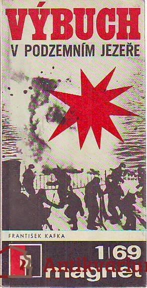 Výbuch v podzemním jezeře