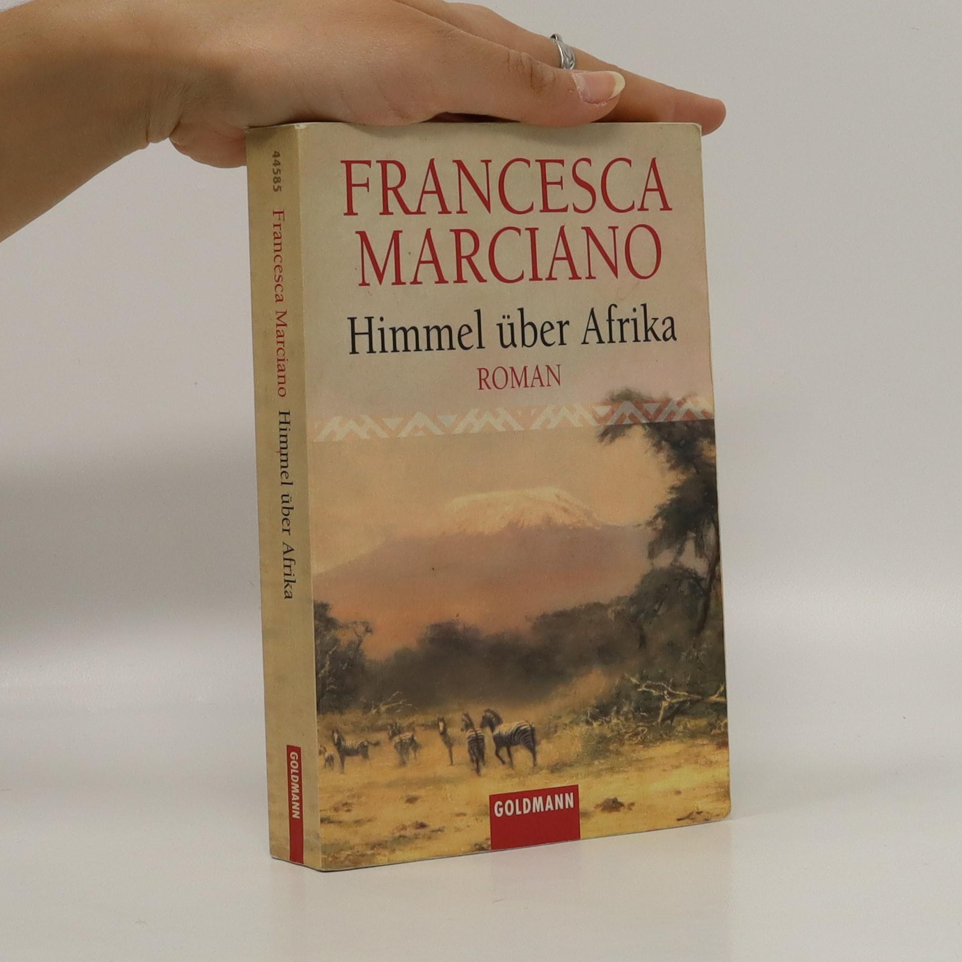 antikvární kniha Himmel über Afrika, neuveden