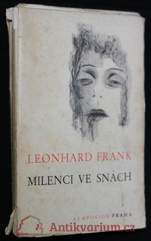 antikvární kniha Milenci ve snách : [Traumgefährten] : román, 1937