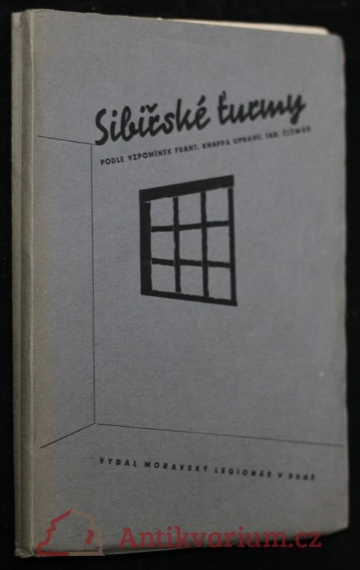 antikvární kniha Sibiřské ťurmy, 1935