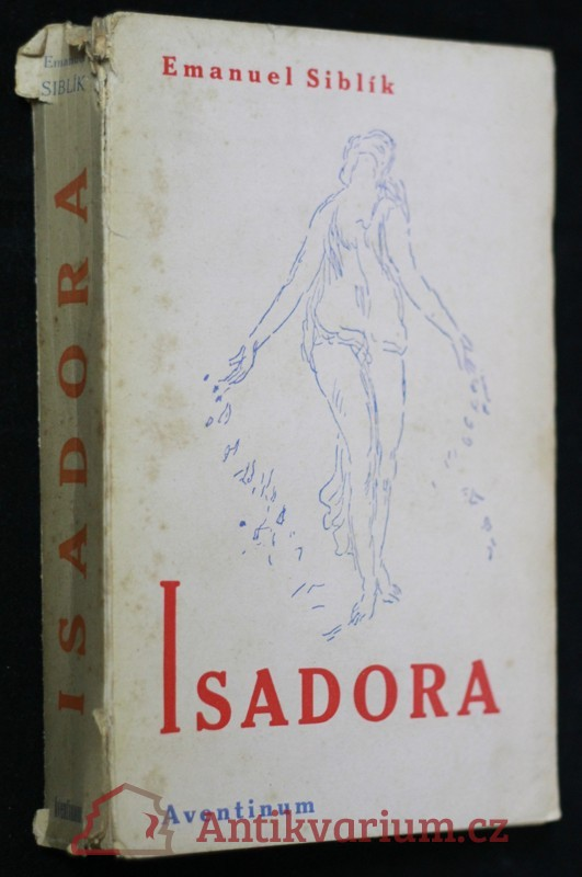 antikvární kniha Isadora : taneční obrození, 1929