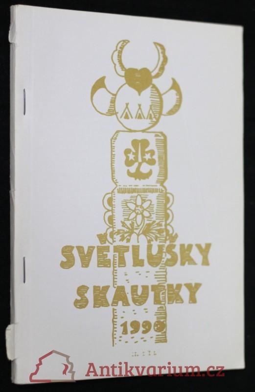 antikvární kniha Světlušky skautky 1-2.díl, 1990