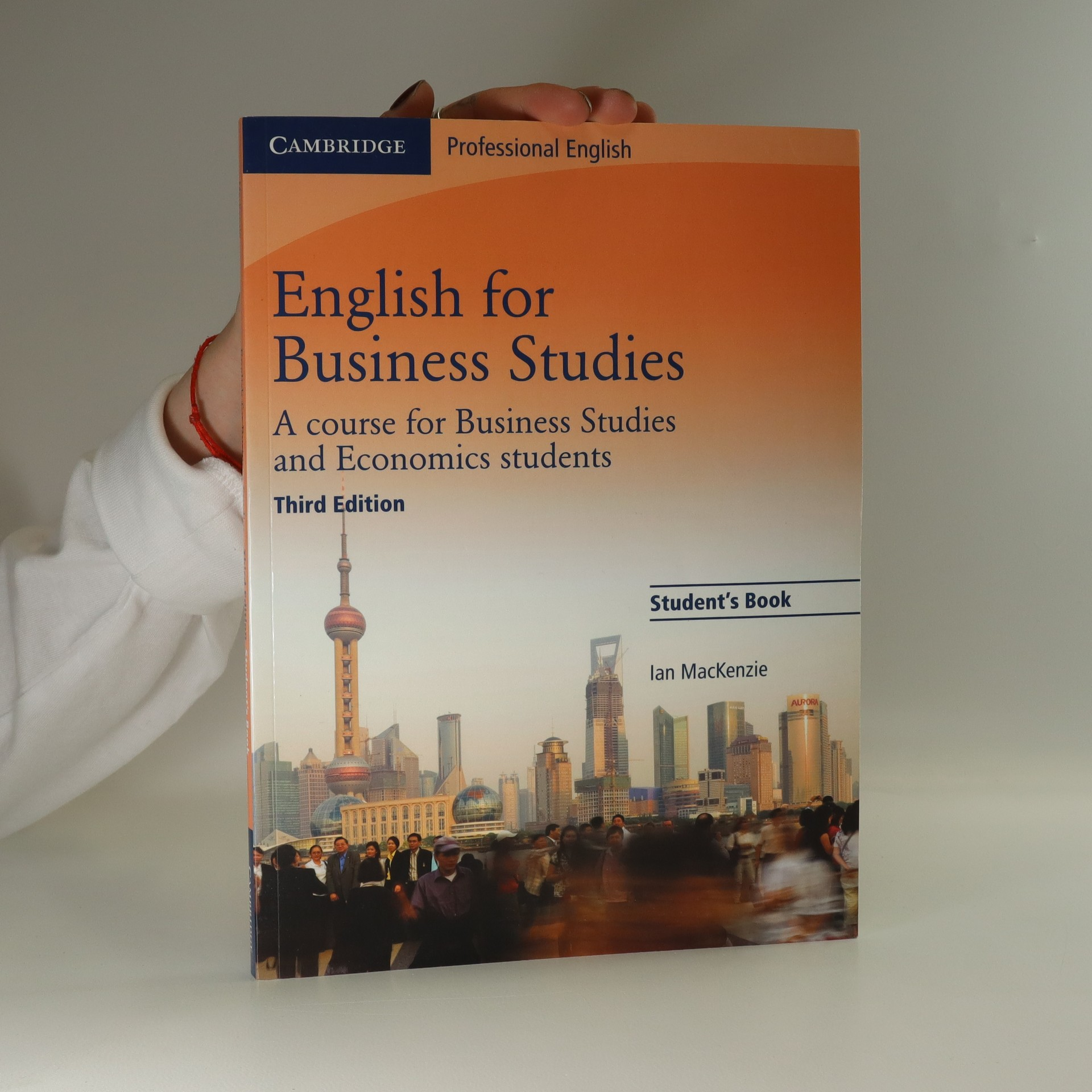antikvární kniha English for Business Studies : A Course for Business Studies and Economics Students: Student's Book, 2012