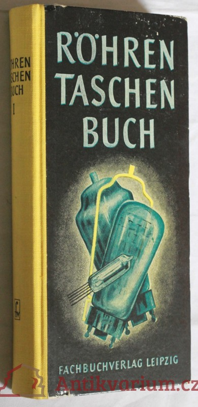 antikvární kniha Röhren Taschenbuch, 1958