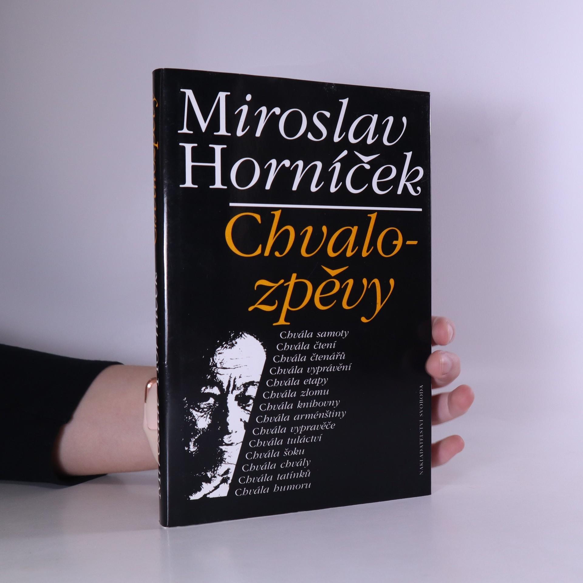 antikvární kniha Chvalozpěvy, 1995