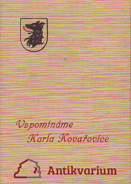 Vzpomínáme Karla Kovařovice
