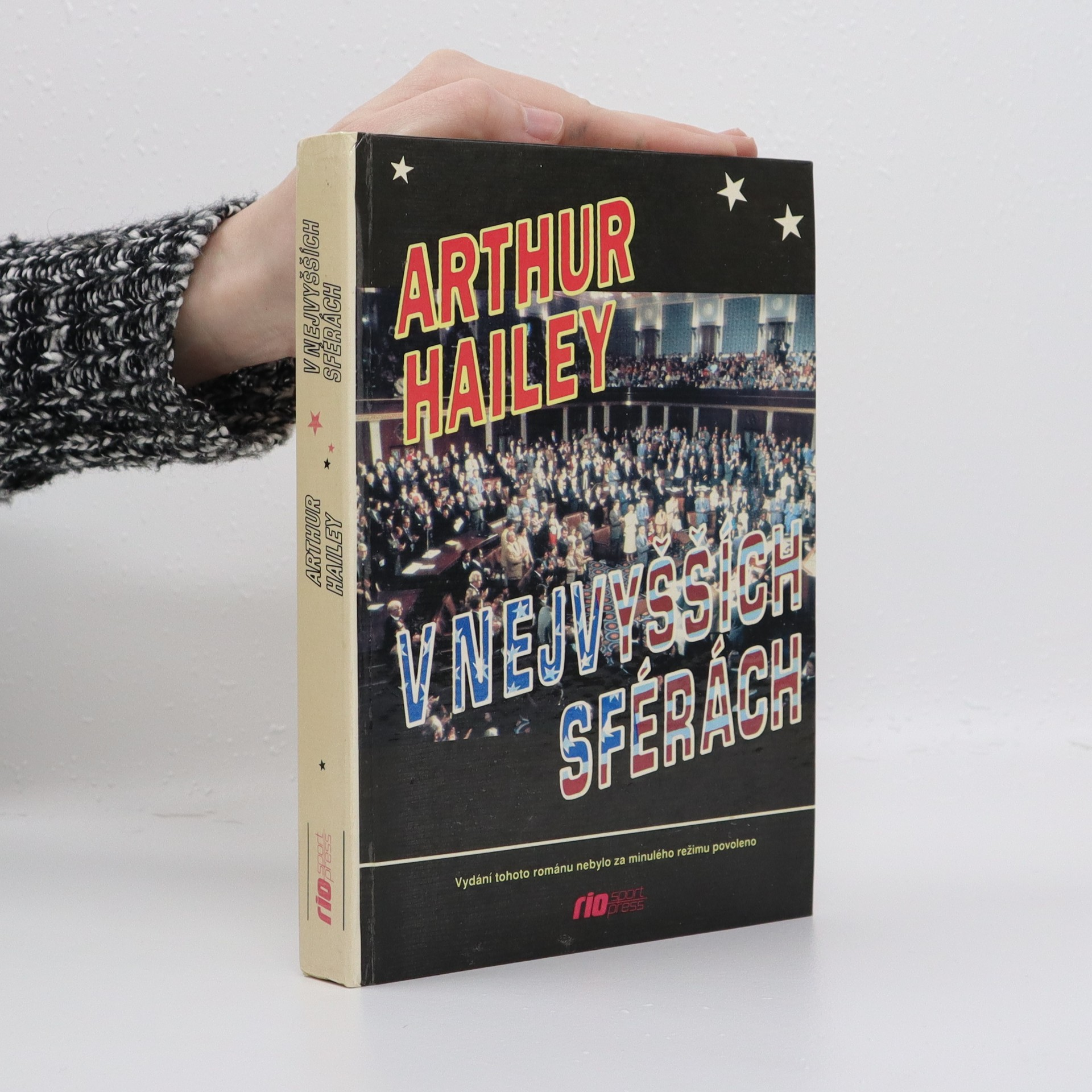 antikvární kniha V nejvyšších sférách, 1992