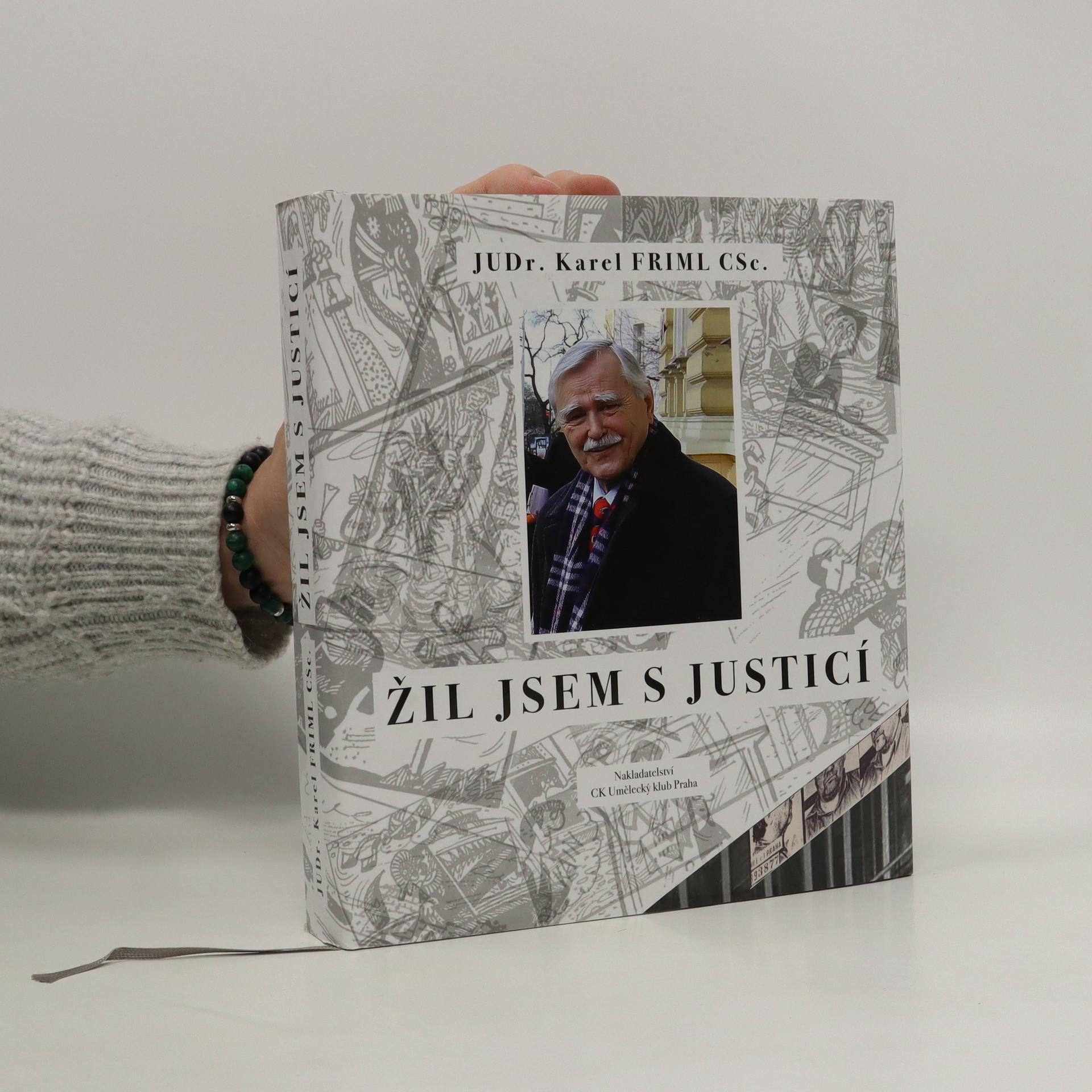 antikvární kniha Žil jsem s justicí, 2020