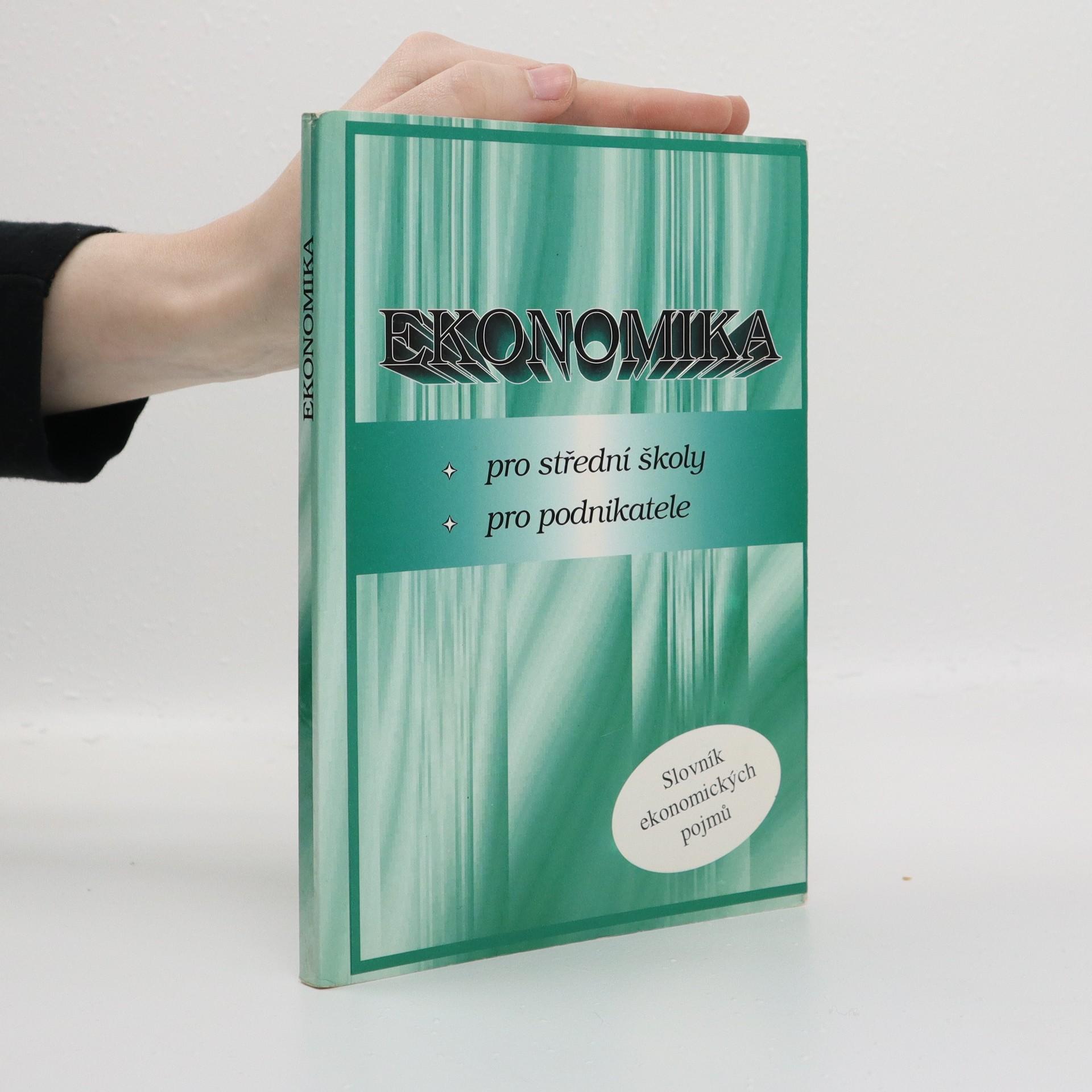 antikvární kniha Ekonomika, 1998