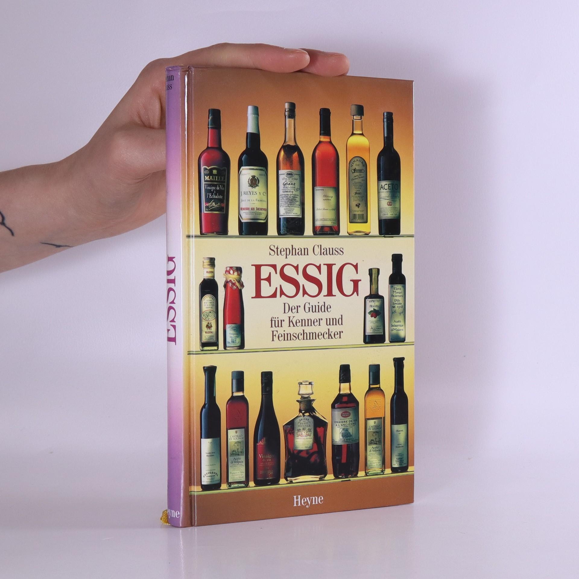 antikvární kniha Essig. Der Guide für Kenner und Feinschmecker, neuveden