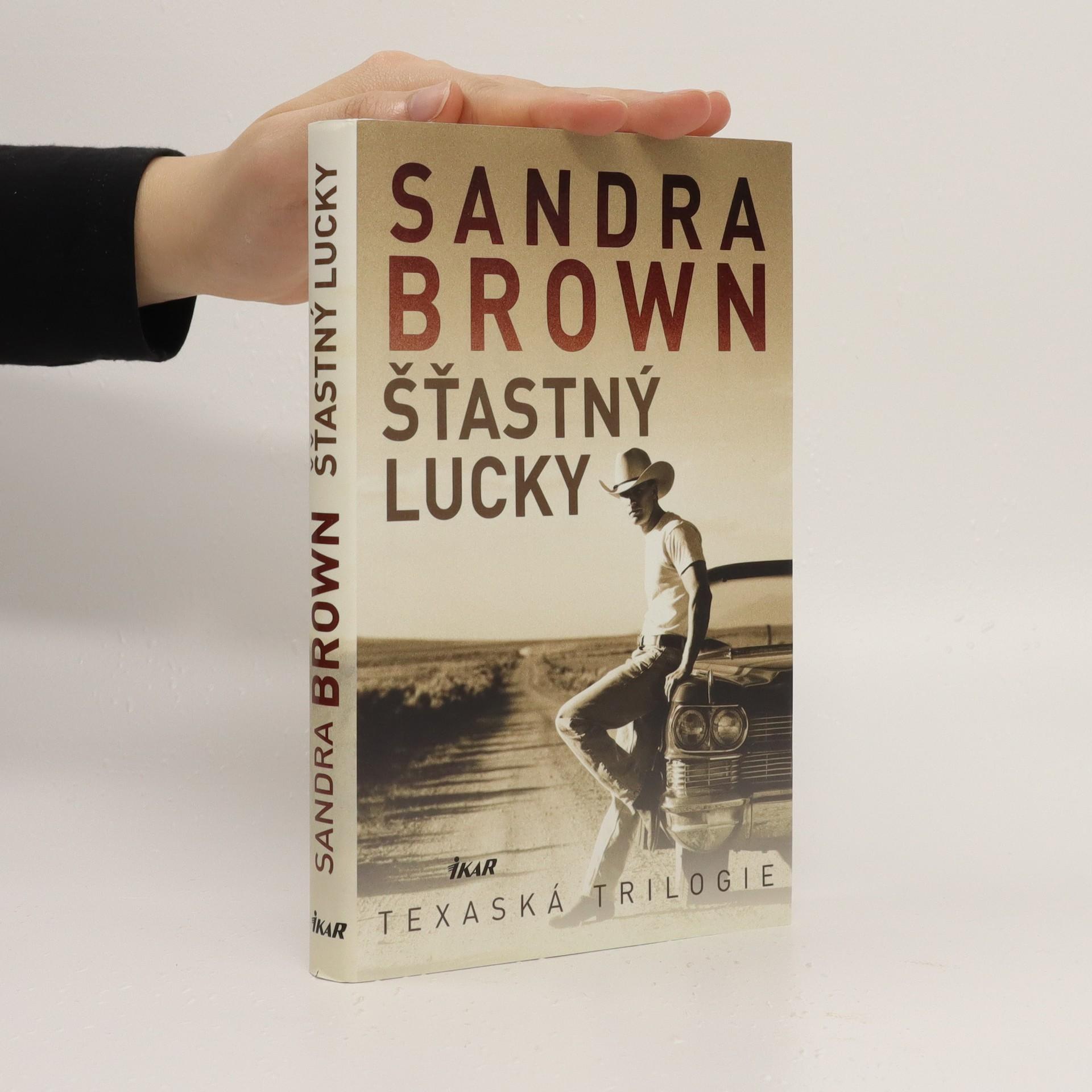 antikvární kniha Šťastný Lucky : texaská trilogie, 2017