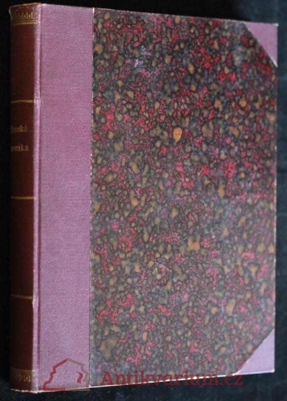 antikvární kniha U Slona, 1904