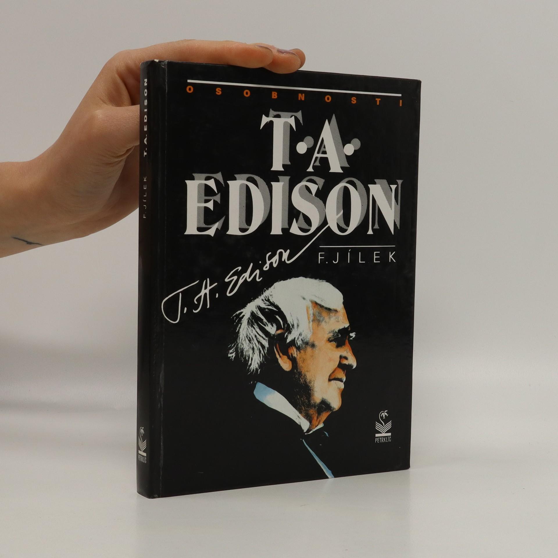 antikvární kniha T.A. Edison, 1995