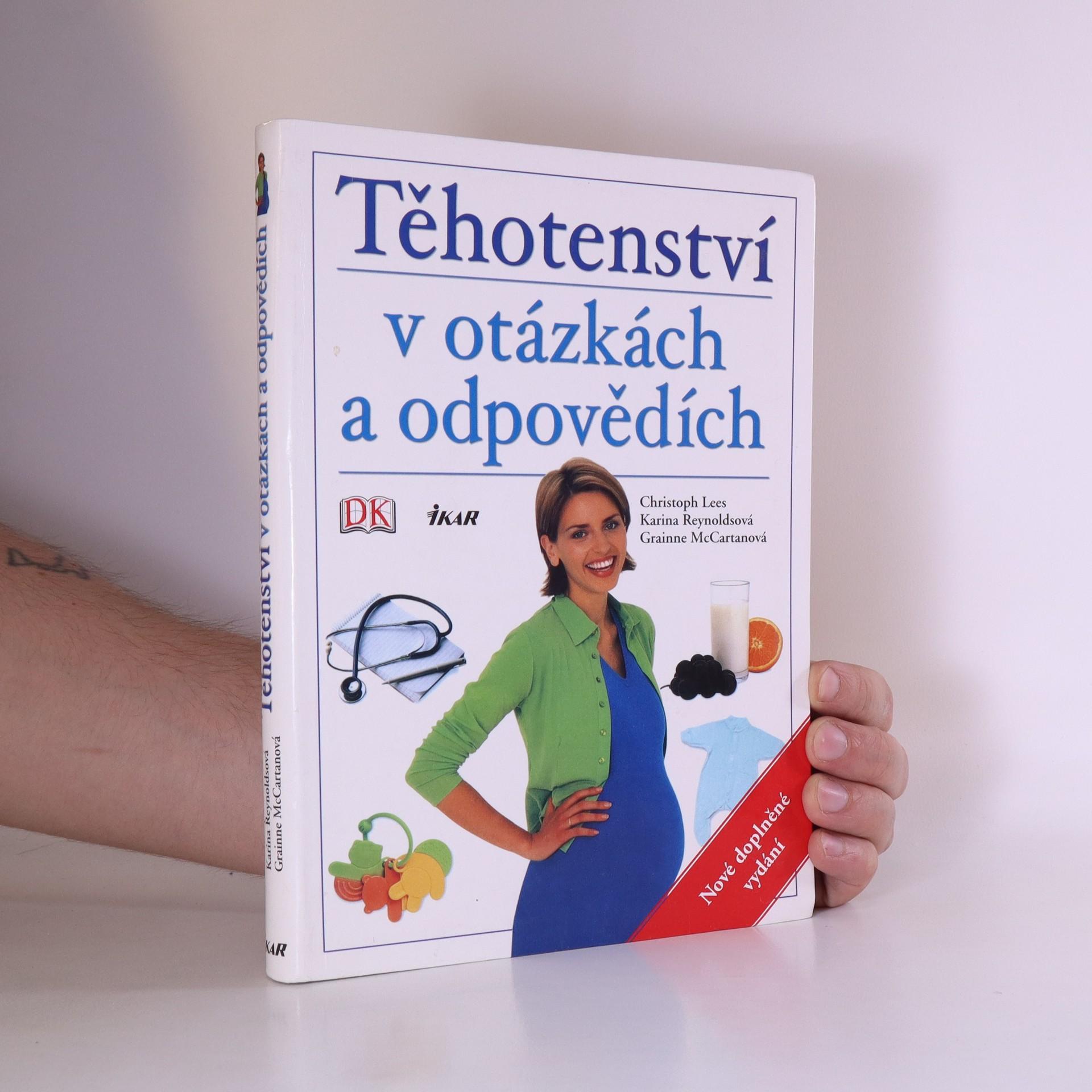 antikvární kniha Těhotenství v otázkách a odpovědích, 2005