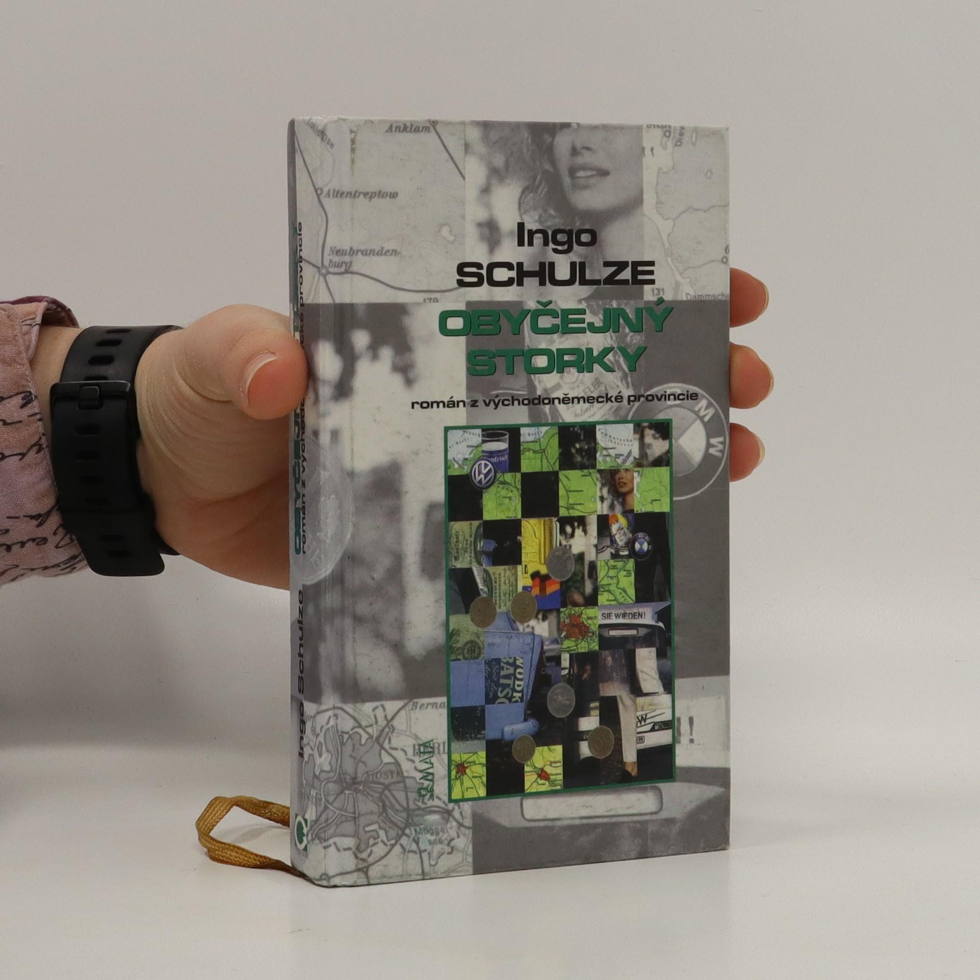 antikvární kniha Obyčejný storky : román z východoněmecké provincie, 2003